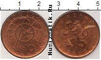 Каталог монет - монета  Чехия 10 крон