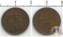 Каталог монет - монета  Чехия 10 хеллеров