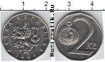 Каталог монет - монета  Чехия 2 кроны