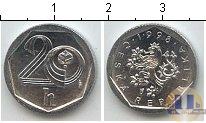 Каталог монет - монета  Чехия 20 хеллеров