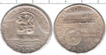 Каталог монет - монета  Чехословакия 10 крон