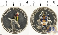 Каталог монет - монета  Багамские острова 2 доллара