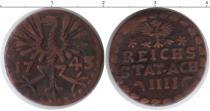 Каталог монет - монета  Ахен 4 хеллера