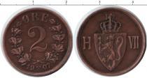 Каталог монет - монета  Норвегия 2 эре