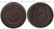 Каталог монет - монета  Борнео 1/4 цента