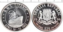 Каталог монет - монета  Сомали 20 долларов