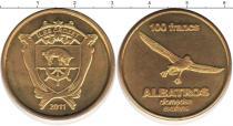 Каталог монет - монета  Остров Крозет 100 франков