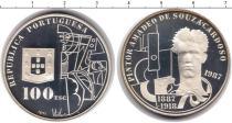 Каталог монет - монета  Португалия 100 эскудо