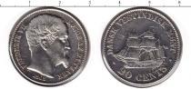 Каталог монет - монета  Датская Вест-Индия 20 центов