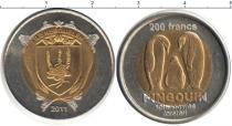 Каталог монет - монета  Острова Кергелен 200 франков