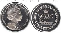 Каталог монет - монета  Британско - Индийские океанские территории 2 фунта