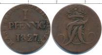 Каталог монет - монета  Анхальт-Бембург 1 пфенниг