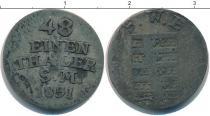 Каталог монет - монета  Саксония 1/48 талера