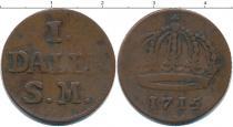 Каталог монет - монета  Дания 1 далер