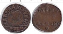 Каталог монет - монета  Албания 2 денье