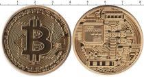 Каталог монет - монета  Европа биткойн