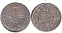 Каталог монет - монета  Мозамбик 2 1/2 эскудо