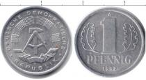 Каталог монет - монета  ГДР 1 пфенниг