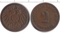 Каталог монет - монета  Германия 2 пфеннига