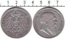 Каталог монет - монета  Баден 5 марок