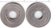 Каталог монет - монета  Восточная Африка 1/2 цента