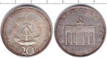 Каталог монет - монета  ГДР 20 марок