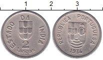 Каталог монет - монета  Португальская Индия 2 таньга