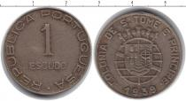 Каталог монет - монета  Сан-Томе и Принсипи 1 эскудо