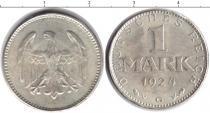 Каталог монет - монета  Третий Рейх 1 марка