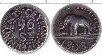 Каталог монет - монета  Цейлон 96 стиверов