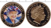 Каталог монет - монета  Гернси 50 пенсов