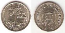 Каталог монет - монета  Гватемала 5 сентаво