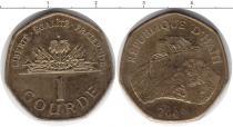 Каталог монет - монета  Гаити 1 гурд