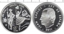 Каталог монет - монета  Испания 10 евро