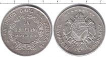 Каталог монет - монета  Боливия 1 боливар