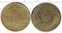 Каталог монет - монета  Маврикий 2 рупии