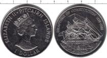 Каталог монет - монета  Острова Питкэрн 1 доллар