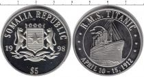 Каталог монет - монета  Сомали 5 долларов