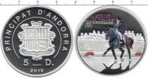 Каталог монет - монета  Андорра 5 динерс
