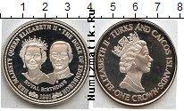 Каталог монет - монета  Теркc и Кайкос 1 крона