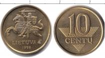Каталог монет - монета  Литва 10 сенти