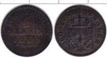 Каталог монет - монета  Пруссия 1 пфенниг