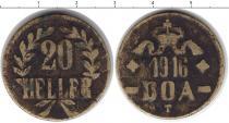 Каталог монет - монета  Немецкая Африка 20 хеллеров