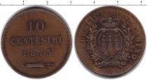 Каталог монет - монета  Сан-Марино 10 сентесим