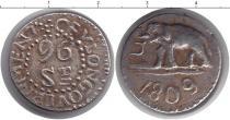Каталог монет - монета  Цейлон 96 стюверов