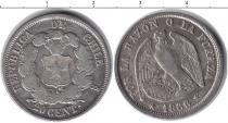 Каталог монет - монета  Чили 20 сентаво