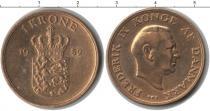 Каталог монет - монета  Дания 1 крона