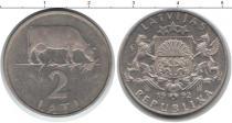 Каталог монет - монета  Латвия 2 лата