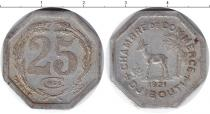 Каталог монет - монета  Джибути 25 сентим