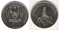 Каталог монет - монета  Руанда 50 франков